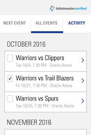 Oracle Arena Map Mobile Ticketing Golden State Warriors