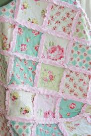 Simply Shabby Chic Blanket by Best 25 Girls Rag Quilt Ideas On Pinterest Baby Camo Camo