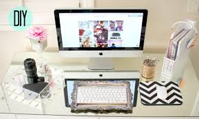 Diy Office Decorating Ideas Diy Desk Decor Affordable