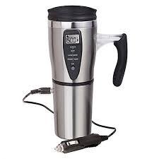 heated coffee mug heated digital travel mug bed bath beyond