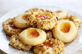 thumbprint cookies recipe simplyrecipes com
