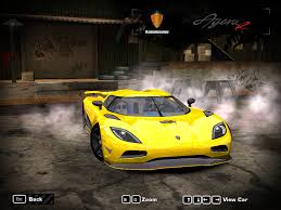 koenigsegg bugatti need for speed most wanted koenigsegg agera r ii nfscars