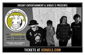 the dead milkmen u2013 tickets u2013 jergel u0027s rhythm grille u2013 warrendale