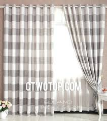 Ikea Striped Curtains Gulsporre Curtains 1 Pair Ikea White And Grey Striped Shower