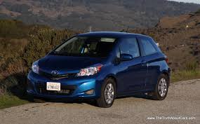 review 2012 toyota yaris 3 door the truth about cars