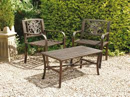 Garden Bistro Table Metal Garden Furniture Decor References
