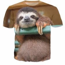 get cheap t shirt womens sloth aliexpress alibaba