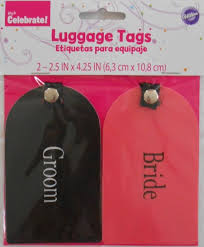 and groom luggage tags set of 2 wilton and groom luggage tags honeymoon travel