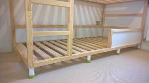 Kura Trofast  Stuva Bed Hack IKEA Hackers - Ikea wood bunk bed