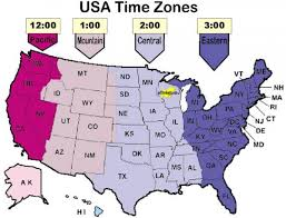 map of time zones in the usa printable usa map with time zones time zone map usa and canada my map
