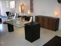 Modern Home Office Desks Glass Top Office Furniture Contemporary Into The Glass