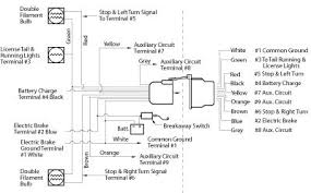 electric trailer brake parts diagram