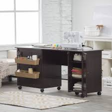 Craft Table Desk 8 Flexible Best Sewing Machine Tables With Cabinet Sewing Desk