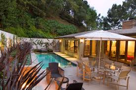 Small Backyard Pools Cost Lap Pool Cost Patio Contemporary With Custom Drains Outdoor Dining