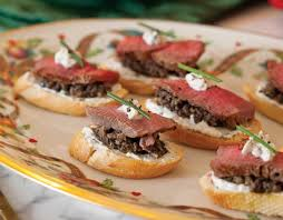 beef canape recipes beef wellington canapés teatime magazine