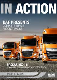 paccar inc daf in action magazine 2013 number 1