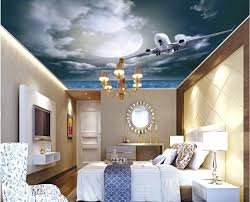 ceiling stars picture more detailed picture about wallpaper 3d wallpaper 3d ceiling star night sky airplane month living room bedroom ceiling frescoes 3d ceiling murals