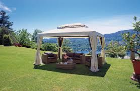 giardini con gazebo gazebo in alluminio ideale per ombreggiare e proteggere dall acqua