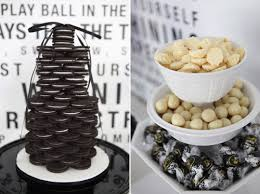 Black And White Candy Buffet Ideas by Bn Black Book Of Parties Black And White Dessert Table