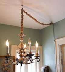 how to hang a pendant light with a cord how to hang a chandelier in a room without wiring for an overhead