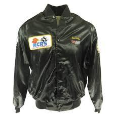 national corvette restorers society vintage 80s national corvette restorers society satin jacket