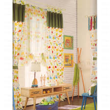 Yellow Nursery Curtains Colorful Printed Animal Pattern Nursery Curtain 2016 New Arrival