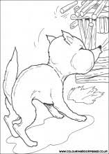 3 pigs colouring pages nursery rhyme colouring sheets