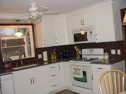 the backsplash with white cabinets furniture home design and