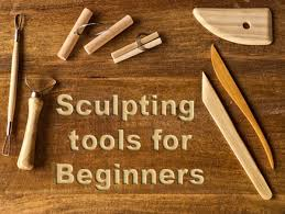 Wood Carving Tools Set For Beginners by Sculpting Materials For Beginners