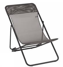 chaise longue transat transat en location chaise longue avec toile grise ml locations