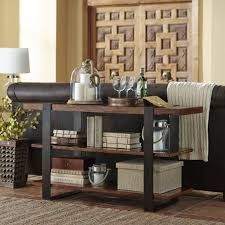furniture showcase your tv using classy crate and barrel media