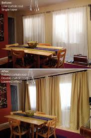 Curtain Rods Installation Awesome Hanging Curtain Rods Height 2018 Curtain Ideas