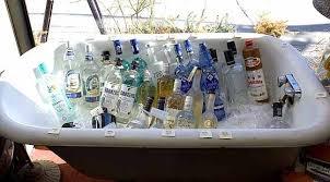 Bathtub Full Of Ice Bathtub Gin Gangster Party Pinterest