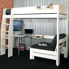White High Sleeper Bed Frame High Sleeper With Sofa And Desk White Storage High Sleeper Bed