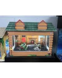 r j enterprises fusion 50 gallon aquarium tank and cabinet deals on rj enterprises 10 gallon log cabin aquarium tank cover