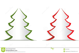christmas tree template cut out christmas lights decoration