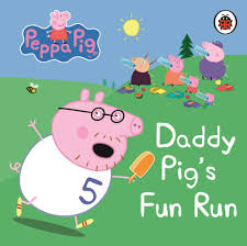 peppa pig halloween peppa pig daddy pig u0027s fun run my first storybook