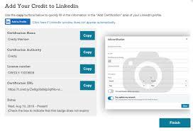 how do i add my digital badge to my linkedin profile customer