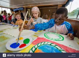 black kid painting stock photos u0026 black kid painting stock images