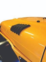 jeep hood vents jeep wrangler yj hood vent black daykj71042bk daystar