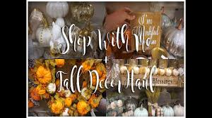 Home Goods Art Decor by Shop With Me Fall Decor Haul 2017 Dollar Tree U0026 Home Goods