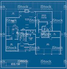 blueprint floor plan vector house floorplan blueprint stock vector art 165501588 istock