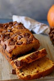 chocolate chip pumpkin bread an amazing thanksgiving dessert