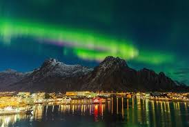 best country to see northern lights map of europe reveals the countries with the highest levels of well