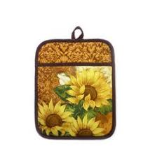 sunflower kitchen canisters sunflowers canister set by certified international