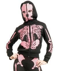 Womens Skeleton Costume Womens Skeleton Sweatshirt