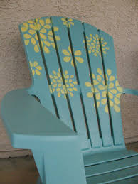 What Are Adirondack Chairs Cactus And Olive Adirondack Stencil Tutorial