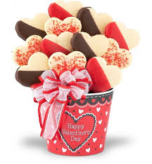 cookie baskets s day cookie bouquet chocolate sweet baskets