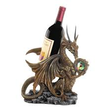 Grapes And Wine Home Decor The 1 Stop Gift Shop Dragon Wine Bottle Holder Home Decor The