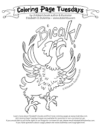 dulemba coloring page tuesday bicak